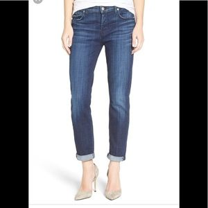 7 for all Mankind boyfriend skinny jeans josefina